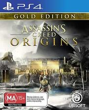 Assassins Creed Origins Rare Gold Edition Action RPG Game Sony Playstation 4 PS4