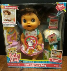 Baby Alive Doll Real Surprises Baby Interactive Speaks English/Spanish NIB 👀