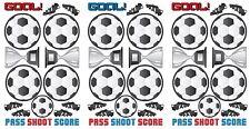 SOCCER 45 Wall Decals GOAL PASS SHOOT Room Decor Stickers BALL Score Trophy