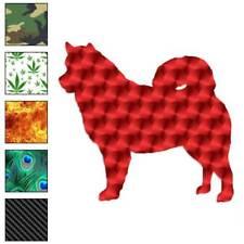 Alaskan Malamute Dog Decal Sticker Choose Pattern + Size #1908