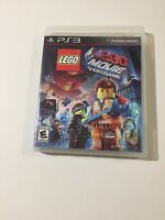 The LEGO Movie Videogame (Sony PlayStation 3, 2014) Complete Tested Fast Ship!