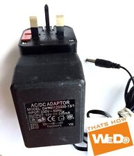 AC/DC POWER ADAPTER D41WI120300-13/1 12V 300mA UK PLUG