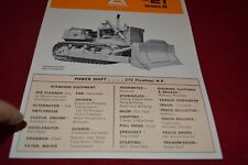Allis Chalmers HD-21 Series B Crawler Tractor Dealer's Brochure YABE14 vr3