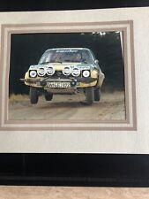 Opel Ascona 1.9 SR.WN EJ 872 Photo.Lars Carlsson.Peter Peterson.Rally Racing