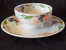Villeroy&Boch Germany AMAPOLA Chop Plate and Round Serving Bowl