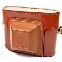 Original Vintage Tan Lomo Gomz Cosmic 35 Film Camera Case with Carry Strap