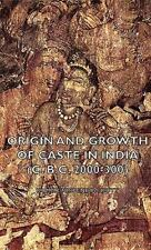 Origin and Growth of Caste in India by Nripendra Kumar Dutt (2008, Hardcover)