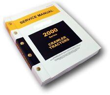 SERVICE MANUAL FOR JOHN DEERE 2010 CRAWLER TRACTOR BULLDOZER & LOADER REPAIR
