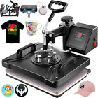 """5 In 1 Heat Press Machine for T-Shirt 15"""" X 12"""" Combo Kit Sublimation Swing-away"""