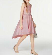 Girls Wedding Lace Hem Dress
