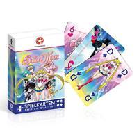 Number 1 Spielkarten - SAILOR MOON - Winning Moves 30577 - Skat, Poker - NEU