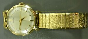1960's Vintage Hamilton Watch Runs Nice Condition 10k Gold Filled Case