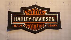Harley Davidson Patch Aufnäher  18,5cm x 11cm