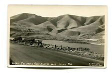 Vintage Rppc Postcard Columbia River Highway near Celilo Oregon