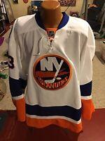 Reebok New York Islanders Game Issued Jersey Andrey Pedan Size 58+