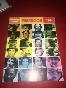 1974 Roster MLB Pittsburgh Pirates Baseball Yearbook Stargell Parker Buc History