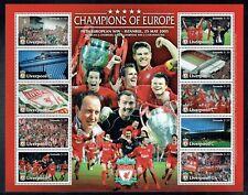 Grenada 2005 Liverpool Football Club set in sheetlet unmounted mint