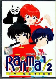 RANMA 1/2 Chapter TV 1 - 161 End English Version 8 DVD Boxset