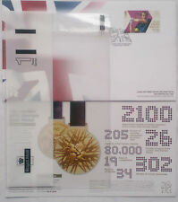 ANDY MURRAY TENNIS LONDON OLYMPICS GRAND SLAM FDC 6/8/2012 GOLD,NO ADDRESSED