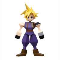 Square Enix Final Fantasy VII 7 Remake Commemorativo Kuji G Mini Figura Nuvola