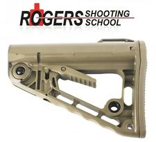 Authentic! Rogers Super-Stoc FDE Flat Dark Earth Carbine Butt Stock 223 FN 5.56