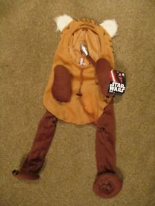 NEW Star Wars Running Ewok Dog Pet Disney Costume Halloween Large