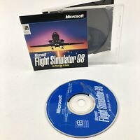 Microsoft Flight Simulator 98 PC Game Vintage Windows 95