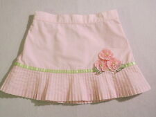 "Gymboree ""Garden Bloom"" Pink Pleated Flower Skirt, 3"