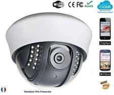 Caméra IP dôme intérieure Wifi Android Smartphone Iphone Tablette Internet C128