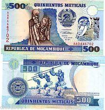 Mozambique AFRIQUE Billet 500 METICAIS 1991  P134  AA NEUF UNC