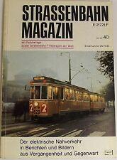 Tranvía Revista Folleto 40 Mai 1981, S. 81-160 Franckh'sche Editorial Acción