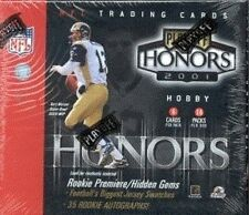 2001 Playoff Honors NFL Football Hobby Box