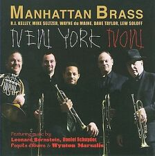 FREE US SHIP. on ANY 3+ CDs! ~Used,Good CD Manhattan Brass: New York Now