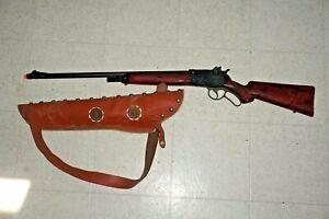 1960'S MARX ROY ROGERS WESTERN COWBOY CAP GUN RIFLE CHILD'S PLAY GC