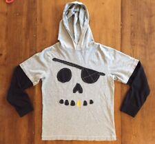 NWT Nautical Gymboree appliqué Skull Anchor T-shirt Tee