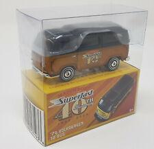 Matchbox NSF New Superfast 2009 Mail In 70 VW Volkswagen T2 Bus Bronze-Gold MIB