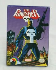 The Punisher NES Complete in Box Tested and Working