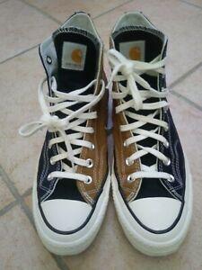 Converse x Carhartt;Chuck 70 hi brown/black/navy; 8.5uk-42eu