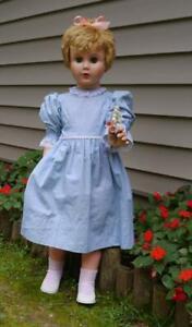 "Vintage Patti Playpal Type/Clone 36"" Companion/Walker Doll-U 21~Look!"