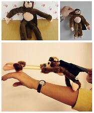 Amazing Flying Monkey Slingshot Flies 50Ft Masked Screaming Noise Gadget Fun Toy