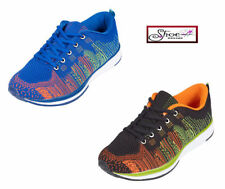 Standard (B) Block Synthetic Upper Trainers for Women