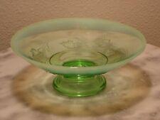 Jefferson Berry Patch Green Opalescent Novelty Bowl