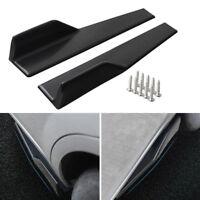 Universal Auto Seitenschutzleisten Stoßstange Lippe Splitter Spoiler Diffusor
