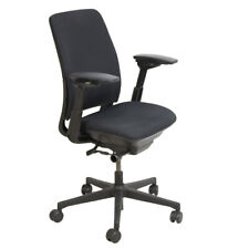Steelcase Amia Adjustable Swivel Office Task Chair Preowned