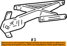 FORD OEM 99-04 F-150 Front Door-Window Regulator XL3Z1523201AA