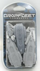Dropfleet Commander TTDFR-RES-007 Armstrong Destroyers (Resistance) Space Ships