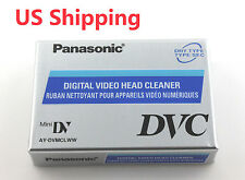 Panasonic DVC Mini DV Digital Video Head Cleaner Tape Cleaning Cassette