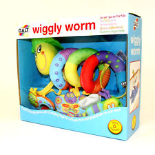 Wiggly Worm Baby Buggy Toy Gift for Pushchair Cot Stroller Spiral Activity