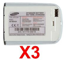Lot Of 3 Oem Samsung Bst480Asa Oem Battery for A920 Used