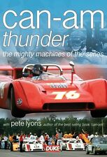 CAN-AM THUNDER DVD. PETE LYONS. PORSCHE, MCLAREN, SHADOW. 148 Mins. DUKE 3150NV